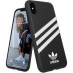 アディダスオリジナルス iPhone X/XS ケース SAMBA (サンバ) ブラック [adidas OR Moulded Case TPU FW18 for iPhone X/XS black/white SAMBA] 並行輸入品
