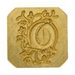 エルバン シーリングスタンプ ハンドル付き 装飾アルファベット hb40015 [O] 30040