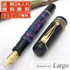 ショッピング万年筆 万年筆 名入れ / Pent〈ペント〉 万年筆 シンフォニー ラルゴ 紫紺の時空 〜Purple-Blue〜 S#PF-LARGO-PB-T (17000)