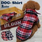 犬 服 犬服 小型犬 チェック ネルシャツ ドッグウエア S M L