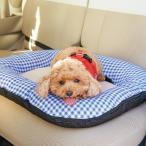 あご乗せ付きカーベッド Sサイズ カー用品 車 車用品 犬 ベッド ドライブ 小型犬 中型犬 猫 ペットグッズ