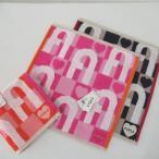 フルラ FURLA ハンドタオル ハンカチ タオル ブランド コットン ホワイトデー 母の日 プレゼント ギフト 御祝 65-fur-680