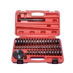 油圧プレス用アダプターセット オイルシール ブッシュ ベアリングの圧入工具 油圧プレス アタッチメント 18mm-74mm(49サイズ)  60日安心保証付