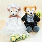 ダッフィー ウェディング 衣装 ペアセット ウエディング 結婚式 ウェルカムドール タキシード ブラック