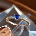 ショッピング指輪 指輪 レディース リング オーシャンハート スワロフスキー 一粒 18金RGP ピンクゴールド