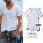 Ron Herman(ロンハーマン) 8100 Vネックダメージ加工Tシャツ