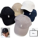 RHC Ron Herman ロンハーマン Rロゴ入り キャップ キャンバス地 R Logo Cap 帽子 正規品  202001