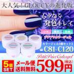 プチプラ新色カラージェル5個セット3【C81〜C120】3gの大容量で納得ジェルネイル♪綺麗な発色!【メール便送料無料】