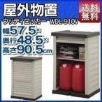 物置 屋外 小型 収納庫 ウッディロッカー WDL-910V アイリスオーヤマ