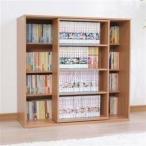 本棚 スライド 文庫 コミック SBO-8590 アイリスオーヤマ (SALE セール)