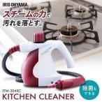 スチームクリーナー 家庭用 掃除機 大掃除 ロング コンパクト キッチンクリーナー STM-304KC アイリスオーヤマ