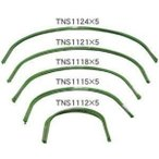 幅88×高52cmトンネル支柱(直径11mm)5本セット TNS-1115×5 園芸支柱