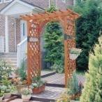 ガーデンアーチ ウッドアーチ 木製 TG-160 アイリスオーヤマ