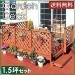 アイリスオーヤマ ガーデンシステムデッキ1.5坪セット