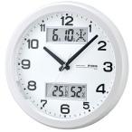 ショッピング電波時計 電波時計 掛け時計 ダブルスライト W-630-PW ノア精密 時計 新生活 掛け時計 おしゃれ オシャレ 電波時計 大きい文字 クロック 掛時計 時計