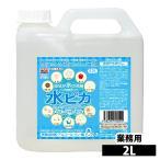 洗剤 アルカリ電解水 水ピカ 2L クリーナー 高濃度(pH13.1) お掃除 洗剤 掃除用 クリーナー 電解水
