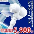 シャワーヘッド 節水 アラミック 3Dアースシャワー 3DE-24N 送料無料