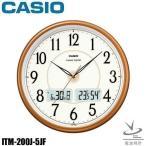 電波時計 掛け時計 電波 カシオ ITM-200J-5JF