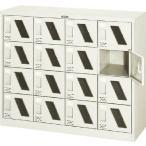 ショッピングシューズケース TRUSCO シューズケース 16人用 1050X380XH880 窓付 SC16WM