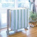(在庫処分特価!)折りたたみステンレスバスタオルハンガー タオル掛け 室内物干し STH-780 パールベージュ アイリスオーヤマ 洗濯物干し