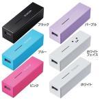 スマートフォン用モバイルバッテリー DE-M04L-3015WH エレコム
