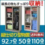 ショッピング仕切り 縦仕切り型物置 物置 収納庫 ハーフタイプ AD-9255C 収納 屋外収納 物置き 倉庫 (代引不可)(TD)