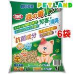 猫砂楽園 森の香ダブル ( 7L*6袋セット )/ 猫砂楽園