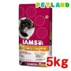 (おススメ)アイムス インドア 毛玉ケア シニア用 7歳以上 うまみチキン味 ( 5kg )/ アイムス ( キャットフード ドライ アイムス 猫 )