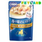 コンボ キャット 海の味わいスープ まぐろと鯛とかつおぶし添え ( 40g )/ コンボ(COMBO)