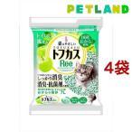 猫砂 おから トフカスリー(Ree) グリーン ( 7L*4コセット )/ トフカスサンド