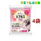 猫砂 おから トフカスピー(Pee) ピンク ( 7L*4コセット )/ トフカスサンド