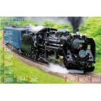 2019年カレンダー デコイチ  D-51蒸気機関車  特大サイズ  不織布カレンダー SL 蒸気機関車  年表カレンダー