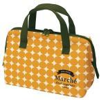 (まとめ) がま口型 ランチバッグ/お弁当袋 〔かぼちゃ〕 ダブルファスナー ポケット付き 『マルシェ』 〔60個セット〕