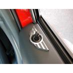 ショッピングmini BMW MINI F54 ドアロックウイング (ブラックレーベル) ミニクーパー クラブマン 内装パーツ