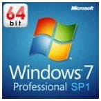 Microsoft Windows7 Professional SP1 64bit DSP版 FQC-08301