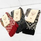 【期間限定値下げ】ハイランド HIGHLAND 2000 BRITISH WOOL 北欧雪柄 Snowflake Open Finger Mitten 英国製 本スウェード革パッチ 指なし手袋
