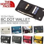 ショッピングNORTH THE NORTH FACE ザ・ノースフェイス BCドットウォレット BC DOT WALLET ウォレット 財布 nm81701 コインケース カードケース 2017秋冬新色 得割20