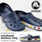 ショッピングミッキー サンダル クロックス CROCS クロックバンド ミッキー クロッグ メンズ レディース クロッグサンダル シューズ 靴 2017春夏新作 送料無料