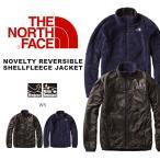 ザ・ノースフェイス THE NORTH FACE ノベルティリバーシブルシェルフリースジャケット メンズ 迷彩 リバーシブル ウインドジャケット ナイロン 得割20 送料無料