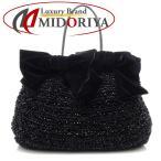 アンテプリマ ANTEPRIMA ワイヤーバッグ ハンドバッグ PVC 黒 ブラック/057281【中古】