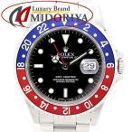 ロレックス ROLEX GMTマスター 16700 赤青ベゼル メンズ 自動巻き /35194 【中古】 【オーバーホール済み】腕時計