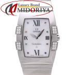 オメガ OMEGA コンステレーション クアドレラ アイリス 1586.79 ダイヤ マルチストーン シェル レディース /35301 【中古】 腕時計