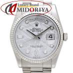 ロレックス ROLEX デイデイト メテオライト 118239A 10Pダイヤ メンズ /35324 【中古】 腕時計