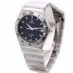 オメガ OMEGA コンステレーション 1512.40 SS クォーツ メンズ ネイビーグレー文字盤 /35836【中古】 腕時計