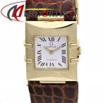 オメガ OMEGA コンステレーション カレ クアドラ 1631.21 750YG イエローゴールド レディース /35873【中古】 腕時計
