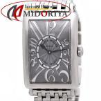 フランクミュラー 952 QZ REL ロングアイランド レリーフ 100本限定 FRANCK MULLER レディース /35874【中古】 腕時計
