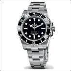 ROLEX ロレックス サブマリーナ ブラック ノンデイト 自動巻き メンズ 腕時計 114060