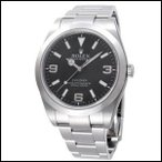 ロレックス エクスプローラー 新型 オイスターパーペチュアル ランダム品番 自動巻き 時計 メンズ 腕時計 214270