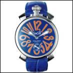 GaGa MILANO ガガミラノ マヌアーレ 48MM 手巻き 時計 メンズ 腕時計 5010.08S