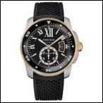 CARTIER カルティエ カリブル ドゥ カルティエ ダイバー 自動巻き 時計 メンズ 腕時計  W7100055